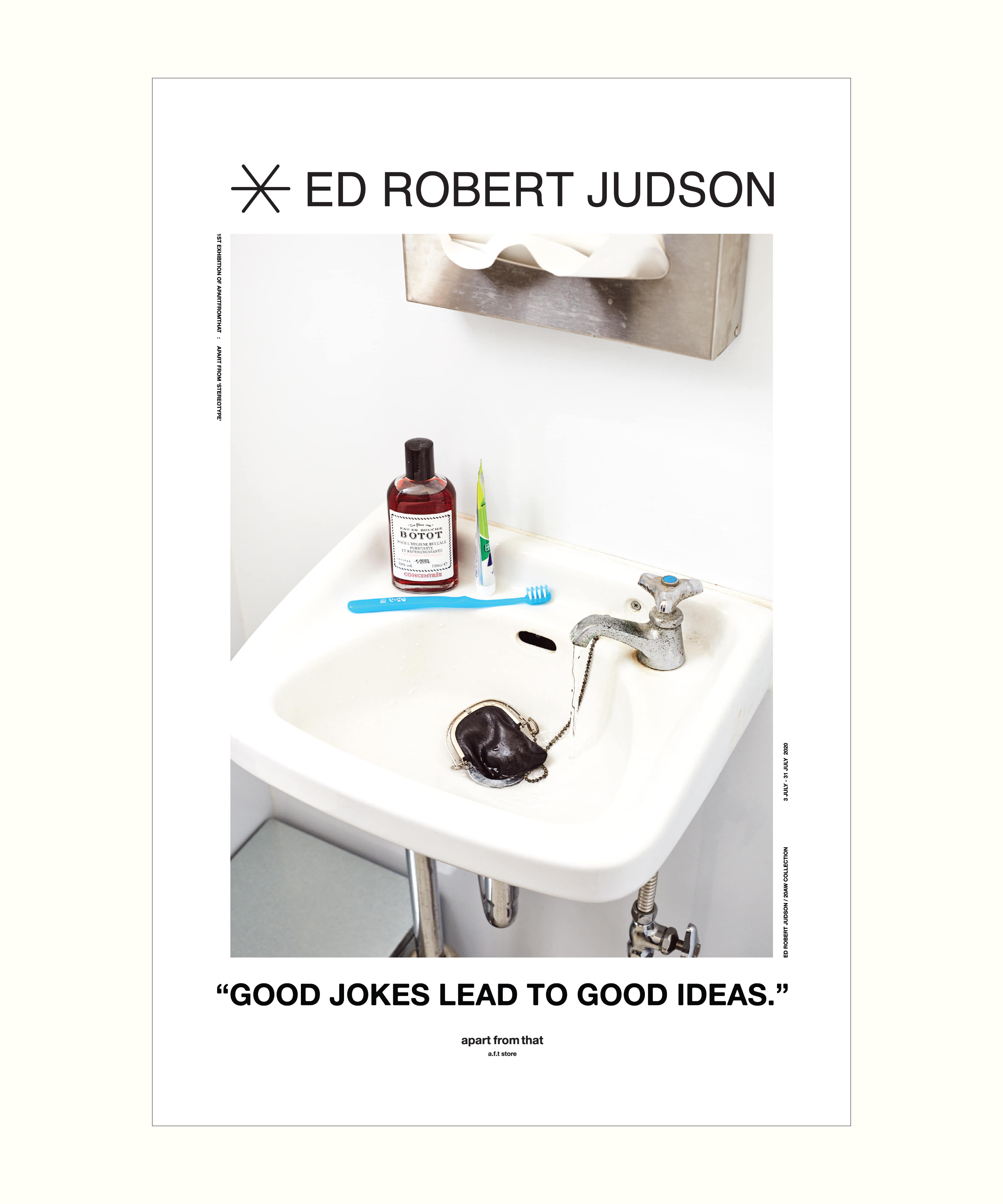 "ED ROBERT JUDSON : APART FROM ""STEREOTYPE"" POSTER.02"