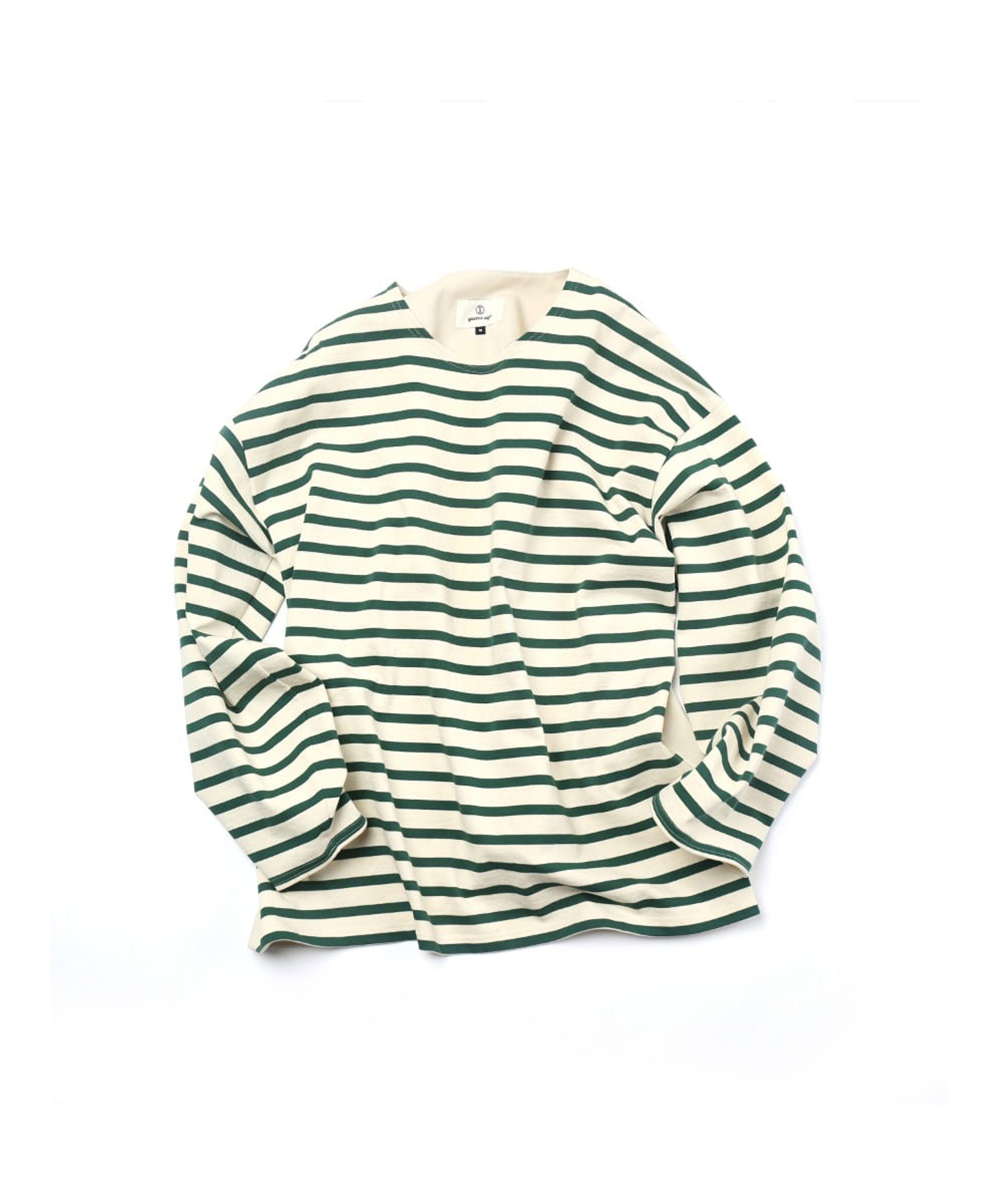 GREEN STRIPE OCTOPUS BASQUE SHIRTS