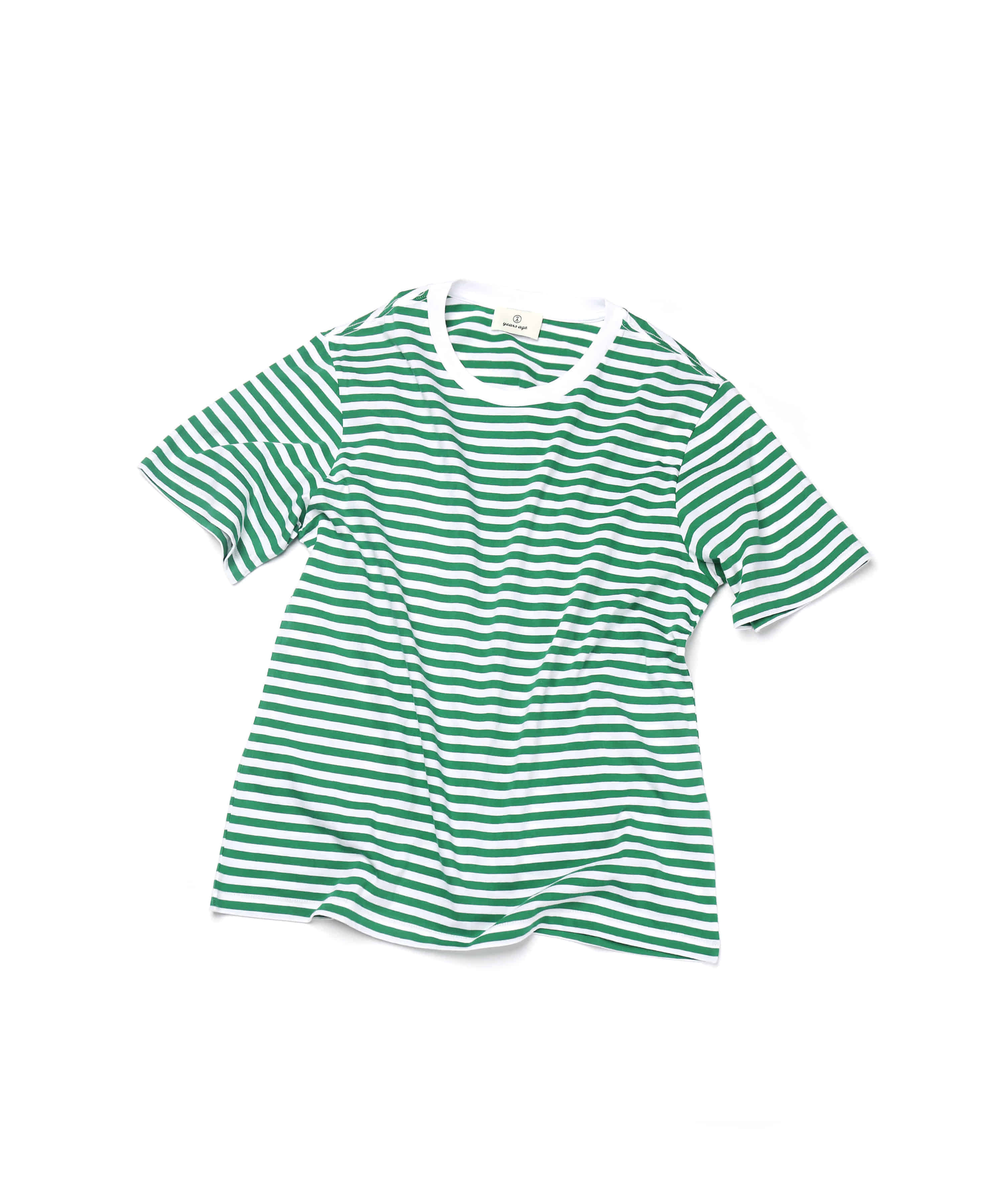 GREEN STRIPE T-SHIRTS