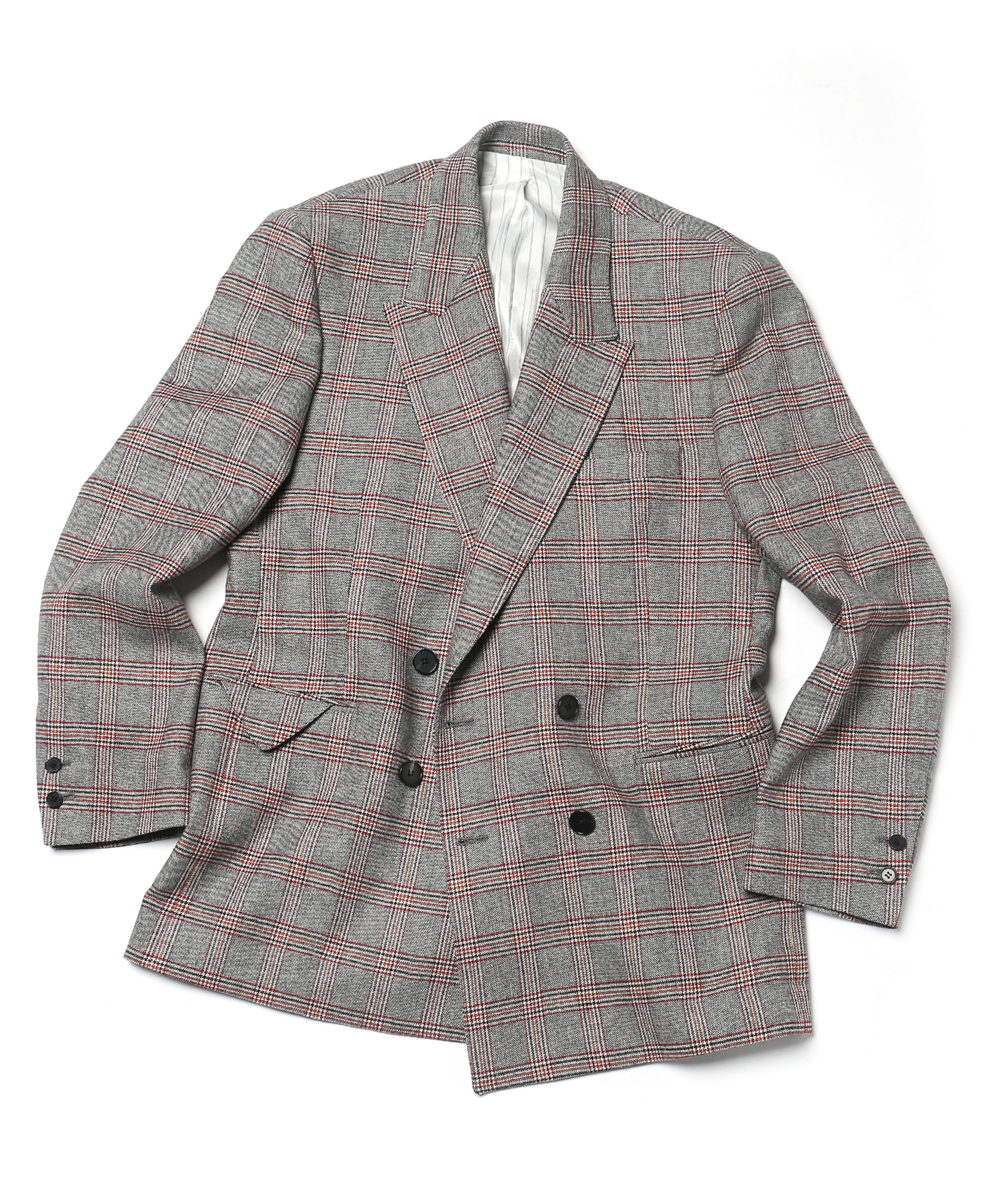 "18"" RED CHECK FLOOR PLAN DB JACKET"