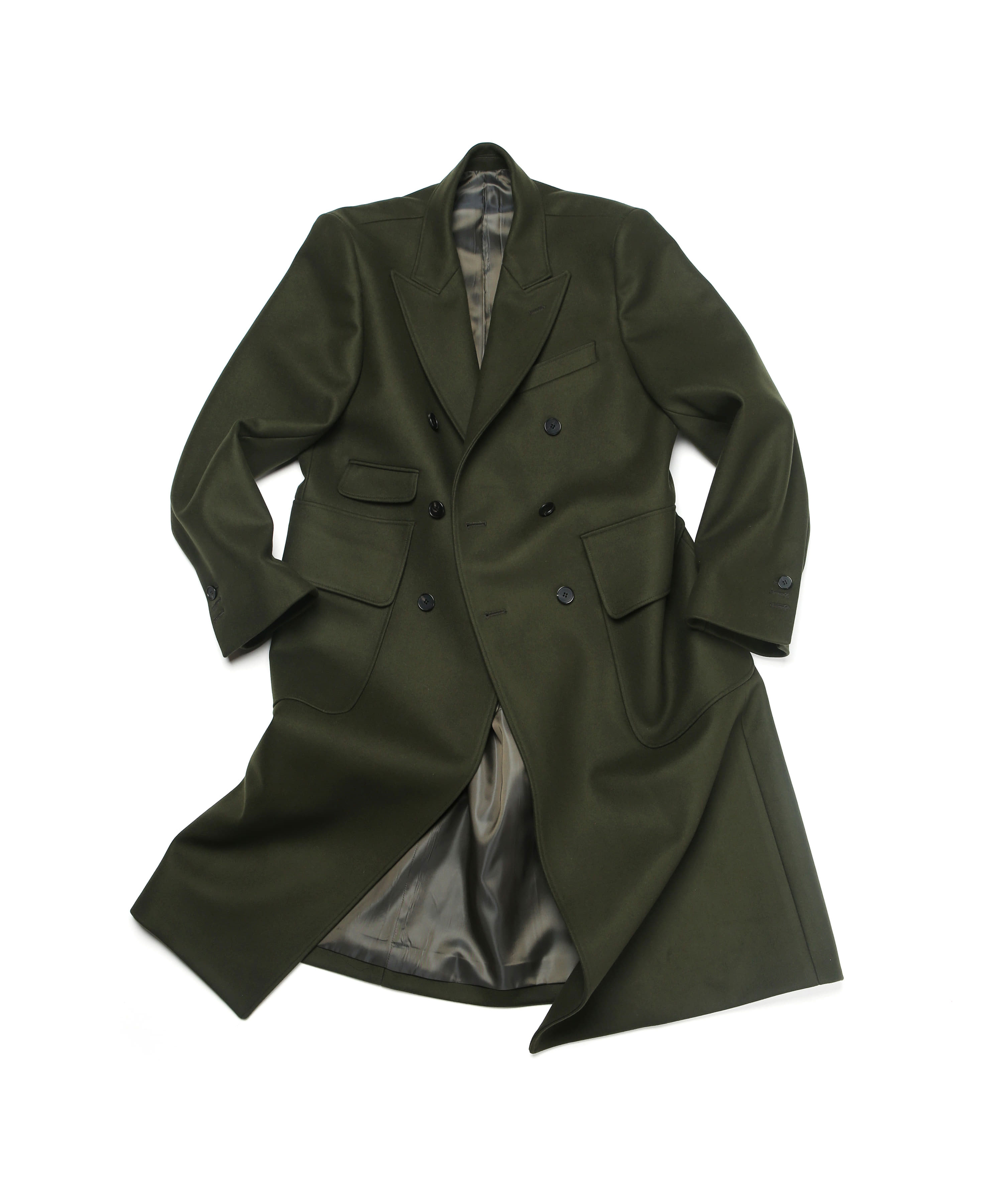 OLIVE DRAB TIMELEAP DOUBLE COAT 01-2
