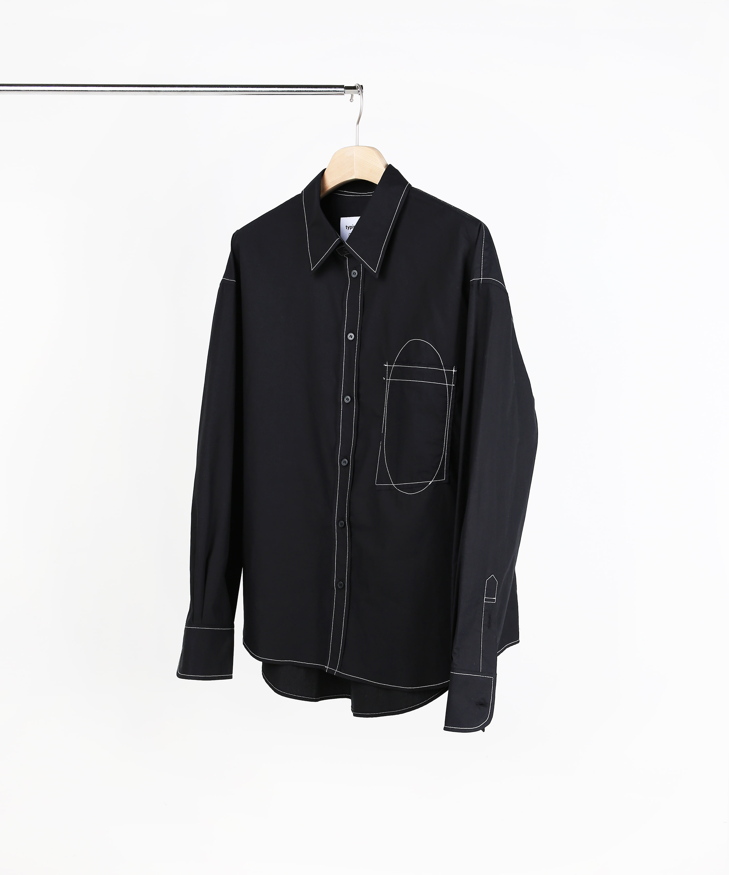 STITCH STANDARD SHIRTS BLACK