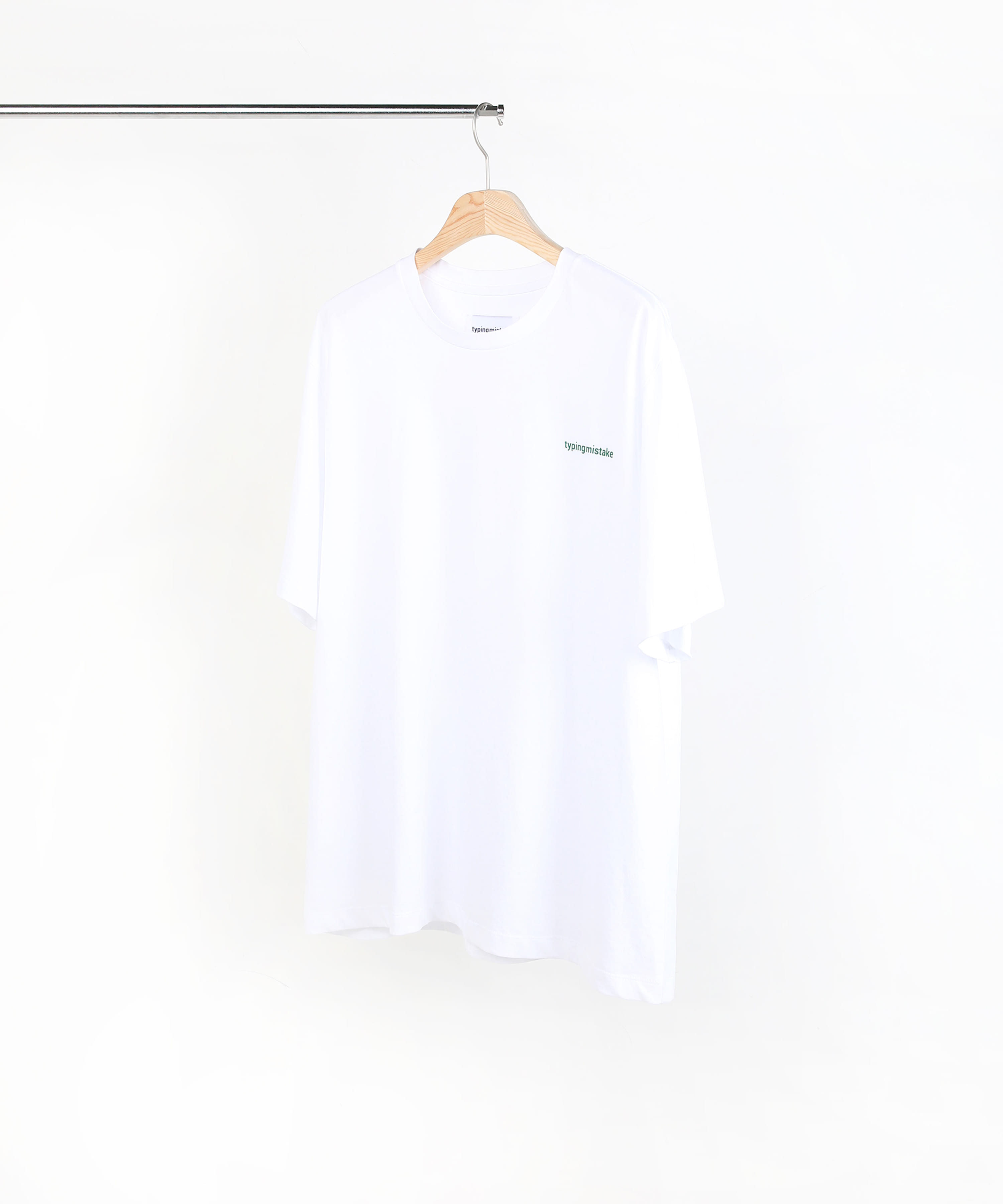 KEY BOARD GRAPHIC T-SHIRTS WHITE