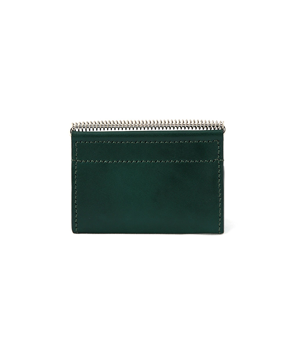 HELIX - CARD CASE 02 GREEN