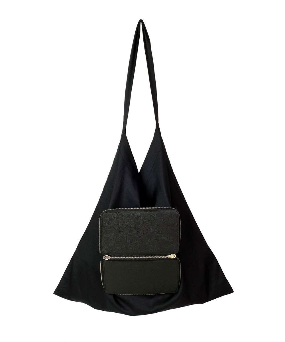 PARALLEL - PACKABLE BAG 170 BLACK