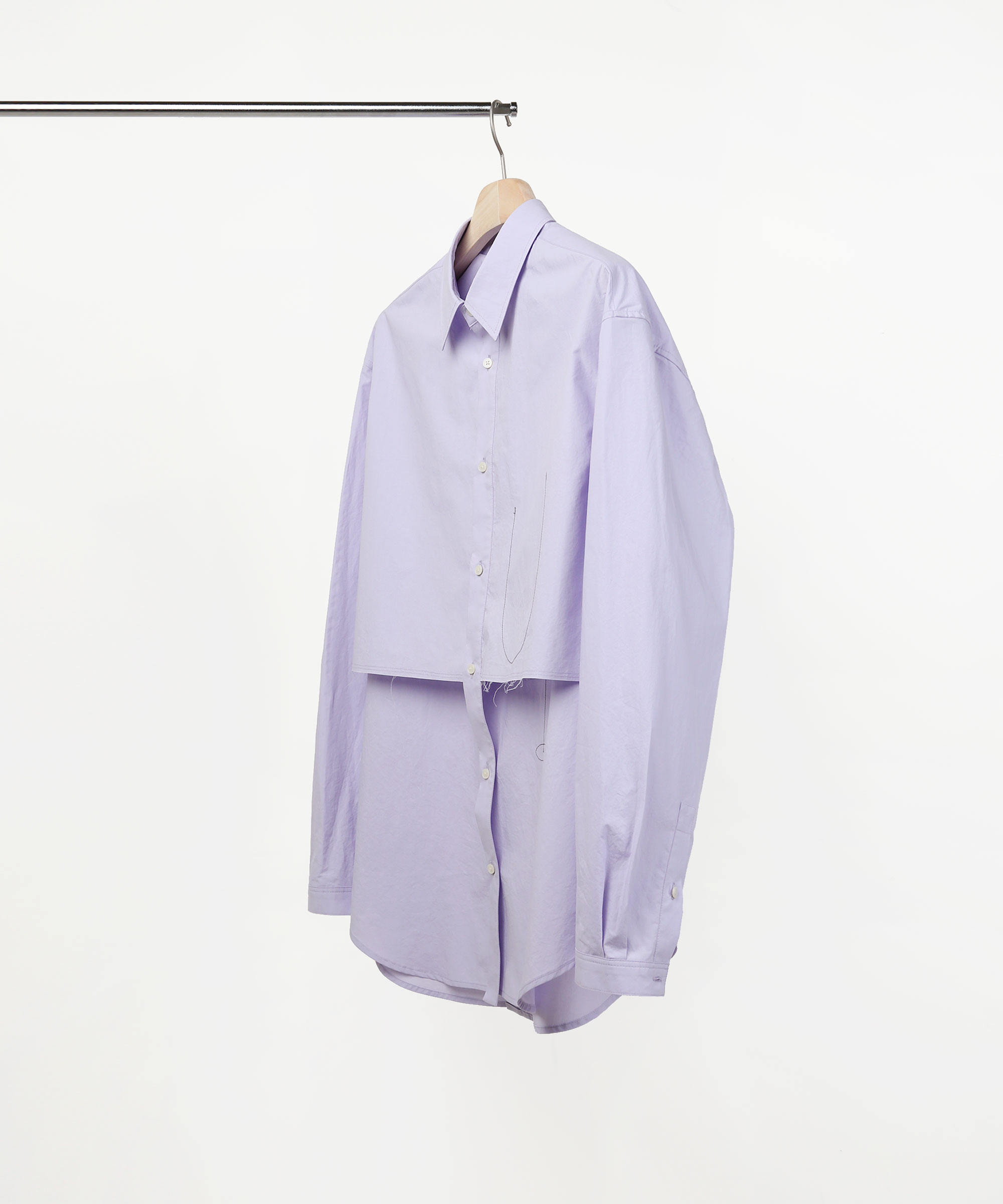 TRANSFORM TWO PIECE SHIRTS LIGHT PURPLE