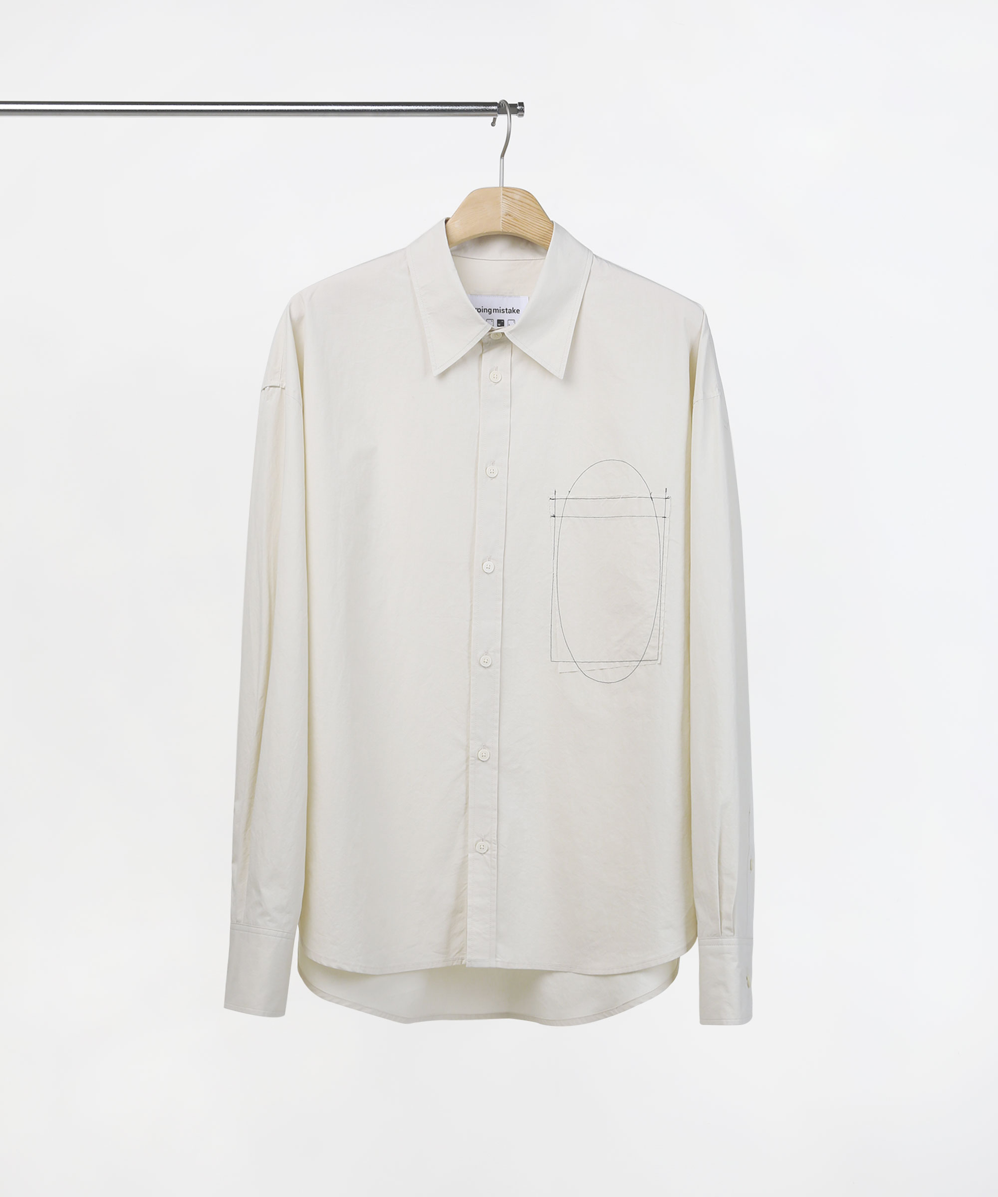 STITCH STANDARD SHIRTS LIGHT BEIGE