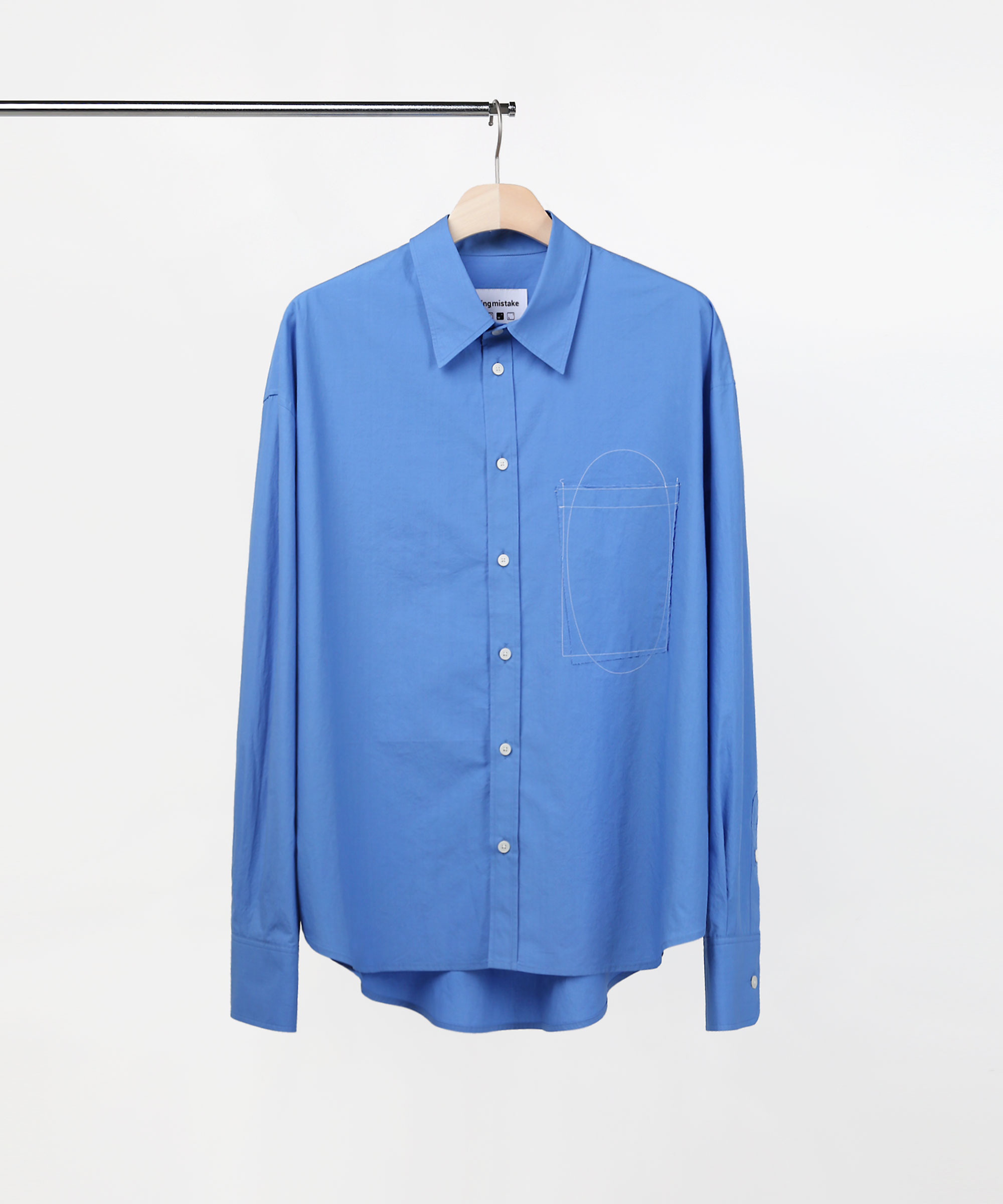 STITCH STANDARD SHIRTS BLUE