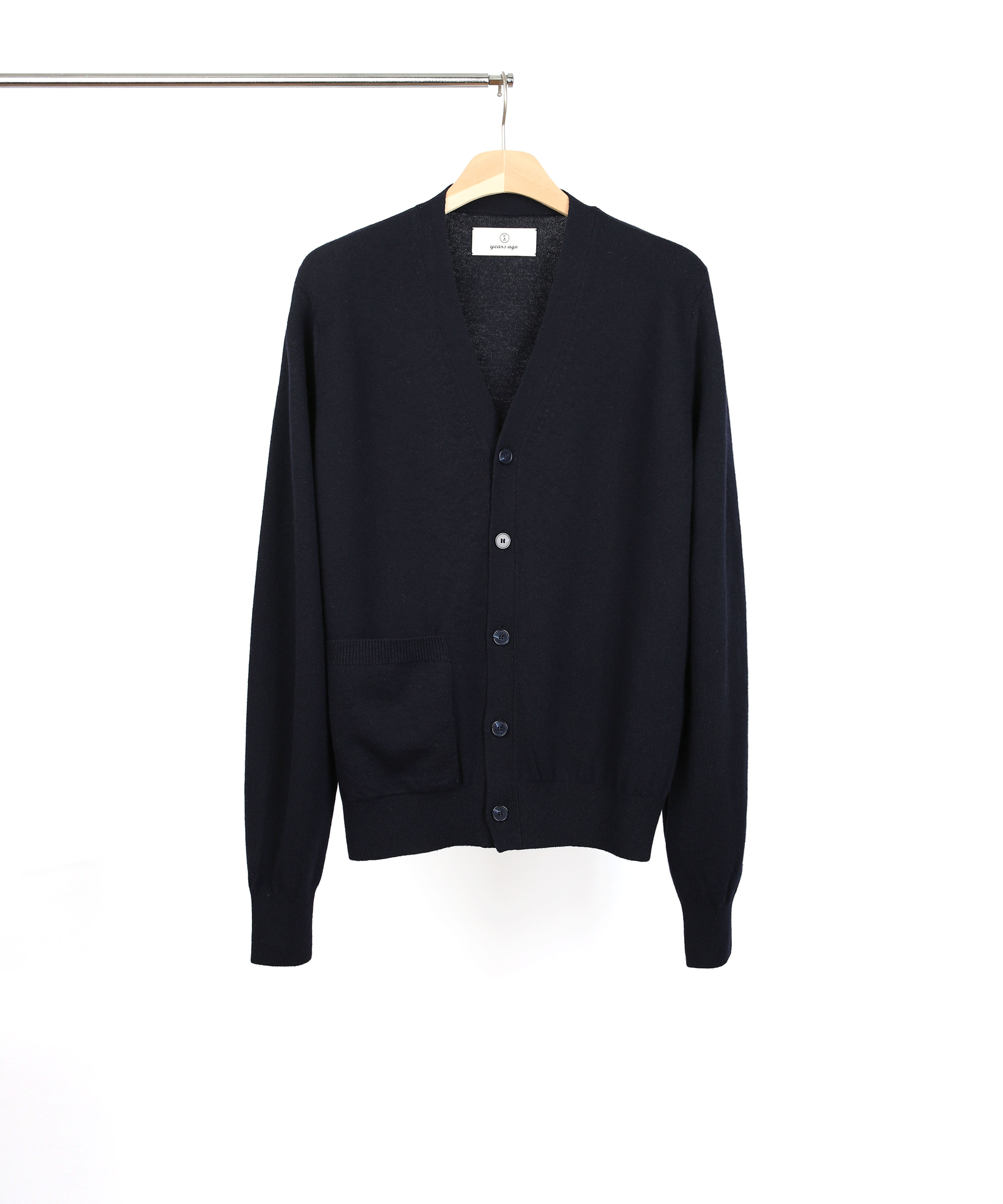 [RESTOCK] DARK NAVY ROVER WOOL CARDIGAN 02 (4월 29일 순차발송)